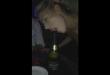 como beber champanhe de forma sexy