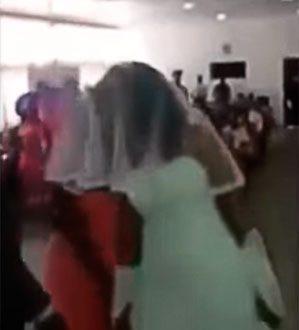 amante invade casamento com vestido igual ao da noiva